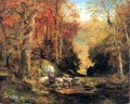 Cresheim Glen Wissahickon Autumn - Thomas Moran