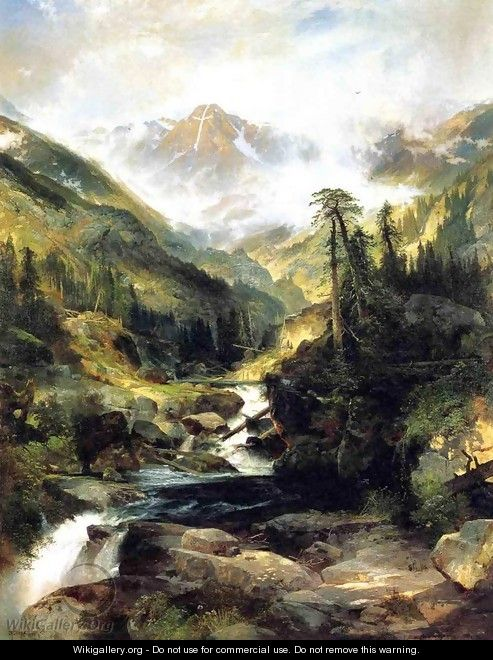 Mountain Of The Holy Cross - Thomas Moran