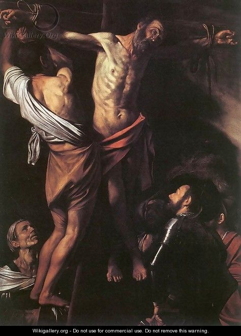 The Crucifixion of St Andrew c. 1607 - Caravaggio