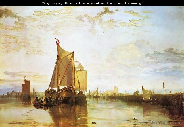 Dort The Dort Packet Boat From Rotterdam Bacalmed - Joseph Mallord William Turner