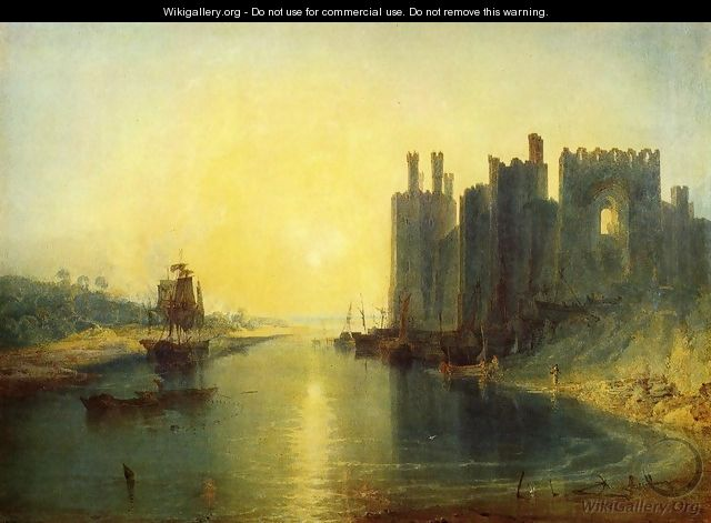 Caernarvon Castle - Joseph Mallord William Turner