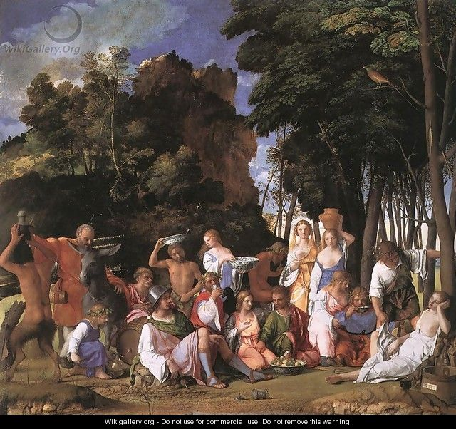 The Feast of the Gods 1514 - Giovanni Bellini