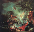 The Rest On The Flight Into Egypt - François Boucher