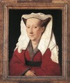 Portrait of Margareta van Eyck 1439 - Jan Van Eyck
