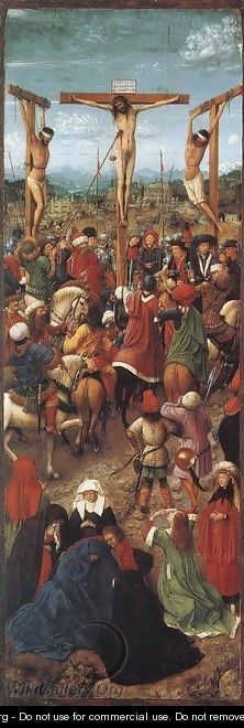 Crucifixion 1420-25 - Jan Van Eyck