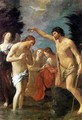 Baptism of Christ c. 1623 - Guido Reni
