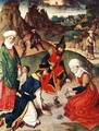 The Gathering of the Manna 1464-67 - Dieric the Elder Bouts