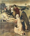 The Entombment c. 1450 - Dieric the Elder Bouts