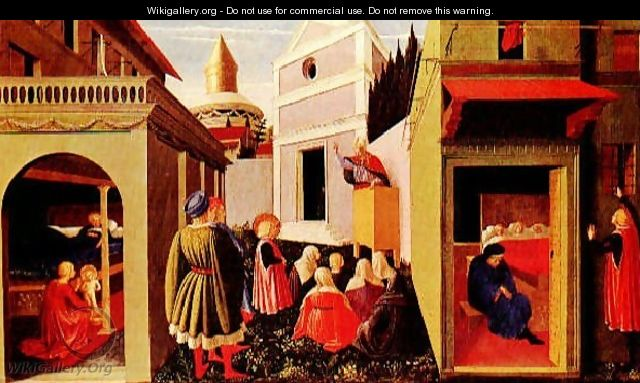 Story Of St Nicholas - Angelico Fra
