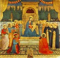 Madonna With The Child Saints And Crucifixion - Angelico Fra