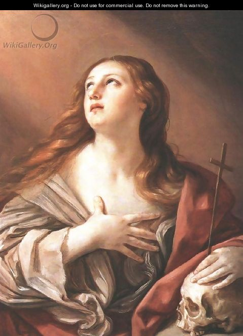 The Penitent Magdalene 1635 - Guido Reni