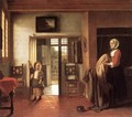 The Bedroom 1658-60 - Pieter De Hooch