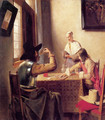 Soldiers Playing Cards - Pieter De Hooch