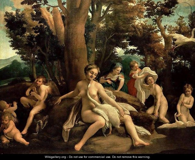 Leda with the Swan 1531 - Correggio (Antonio Allegri)