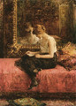 Literary Pursuits Of A Young Lady - Alexei Alexeivich Harlamoff