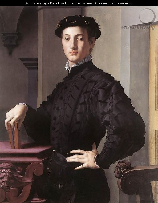 Portrait of a Young Man, c. 1540 - Agnolo Bronzino