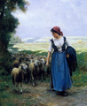 The Young Shepherdess - Julien Dupre
