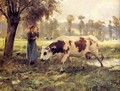 Cows At Pasture - Julien Dupre