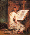 The Penitent Magdalen - William Etty