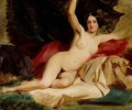 Female Nude In A Landscape - William Etty