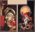Annunciation and Resurrection c. 1515 - Matthias Grunewald (Mathis Gothardt)