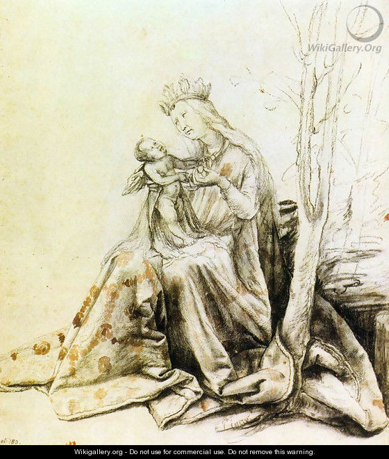 Virgin and Child 1514-19 - Matthias Grunewald (Mathis Gothardt)
