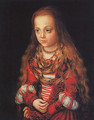 A Princess Of Saxony 1517 - Lucas The Elder Cranach