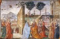 Visitation2 - Domenico Ghirlandaio