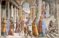 Presentation Of The Virgin At The Temple - Domenico Ghirlandaio