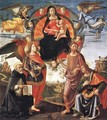 Madonna in Glory with Saints 1490-96 - Domenico Ghirlandaio