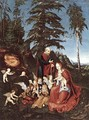 The Rest on the Flight into Egypt 1504 - Lucas The Elder Cranach