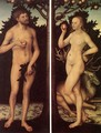 Adam and Eve (2) - Lucas The Elder Cranach