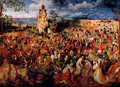 The Procession To Calvary - Pieter the Elder Bruegel