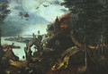Landscape with the Temptation of Saint Anthony 1555-58 - Pieter the Elder Bruegel