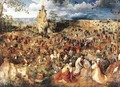 Christ Carrying the Cross 1564 - Pieter the Elder Bruegel