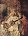 Gilles and his Family c. 1716 - Jean-Antoine Watteau