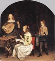 The Concert c. 1657 - Gerard Ter Borch