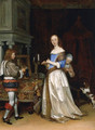 A Lady At Her Toilette - Gerard Ter Borch
