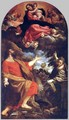 The Virgin Appears to Sts Luke and Catherine 1592 - Annibale Carracci