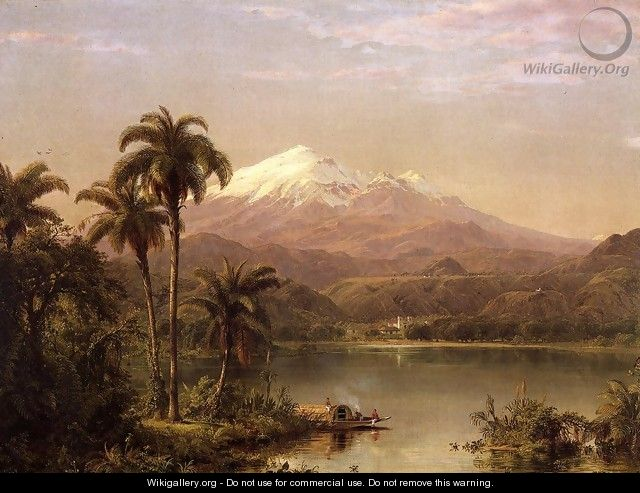 Tamaca Palms2 - Frederic Edwin Church