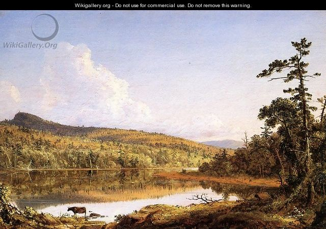 North Lake - Frederic Edwin Church