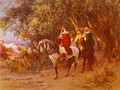 The Return - Frederick Arthur Bridgman