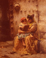 The Reading Lesson - Frederick Arthur Bridgman