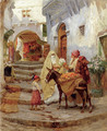 The Orange Seller - Frederick Arthur Bridgman