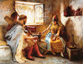 The Game Of Chance - Frederick Arthur Bridgman