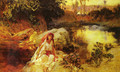 At The Oasis - Frederick Arthur Bridgman