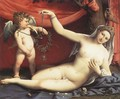Venus and Cupid 1540 - Lorenzo Lotto