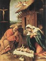 Nativity 1523 - Lorenzo Lotto