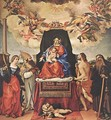 Madonna and Child with Saints (1) 1521 - Lorenzo Lotto