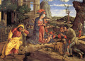 The Adoration of the Shepherds c. 1451-53 - Andrea Mantegna